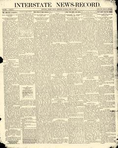 Interstate News Record, May 10, 1890, Page 1