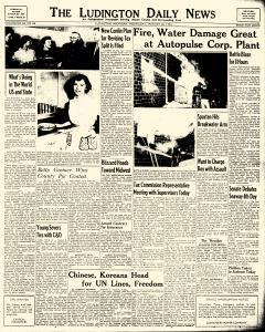 Ludington Daily News, January 20, 1954, Page 1
