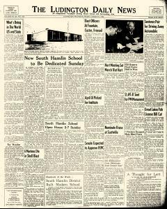 Ludington Daily News, March 05, 1954, Page 1