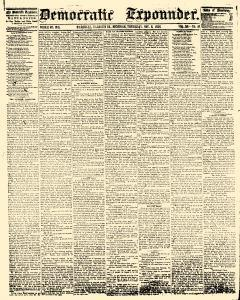 Democratic Expounder, November 06, 1856, Page 1