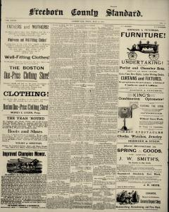 Albert Lea Freeborn County Standard newspaper archives