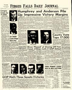 Daily Journal, November 04, 1970, Page 1