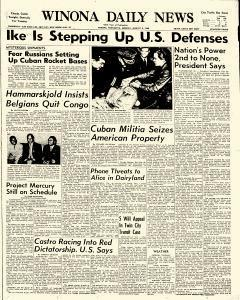 Winona Daily News, August 08, 1960, Page 1
