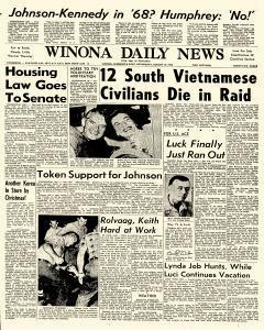 Winona Daily News, August 10, 1966, Page 1