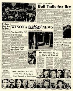 Winona Daily News, March 30, 1969, Page 1