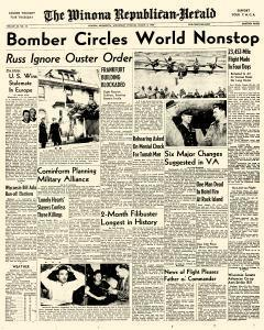Winona Republican Herald, March 02, 1949, Page 1