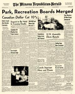 Winona Republican Herald, September 20, 1949, Page 1