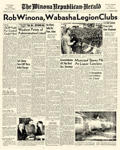 Winona Republican Herald, September 15, 1952, Page 1