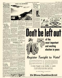 Winona Republican Herald, October 14, 1952, Page 10
