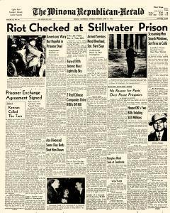 Winona Republican Herald, April 11, 1953, Page 1