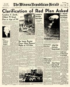 Winona Republican Herald, May 08, 1953, Page 1