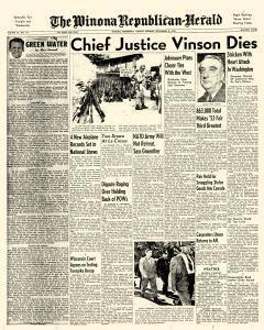 Winona Republican Herald, September 08, 1953, Page 1