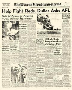 Winona Republican Herald, September 24, 1953, Page 1