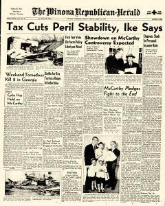 Winona Republican Herald, March 15, 1954, Page 1