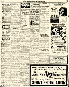 Greenville Daily Democrat Times, March 25, 1933, Page 2