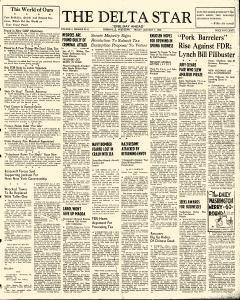 Greenville Delta Star, January 07, 1938, Page 1