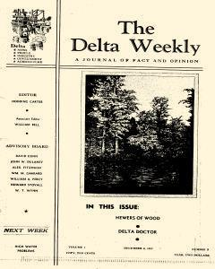 Greenville Delta Weekly, December 06, 1937, Page 1