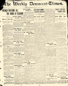 Greenville Weekly Democrat Times, August 30, 1917, Page 1