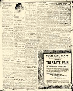 Greenville Weekly Democrat Times, September 13, 1917, Page 8