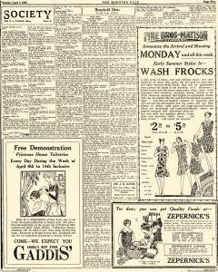 Laurel Morning Call, April 07, 1929, Page 5