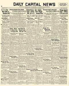 Daily Capital News, February 15, 1938, Page 1