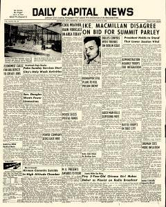 Daily Capital News, March 21, 1959, p. 1