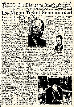 Montana Standard, August 23, 1956, Page 1