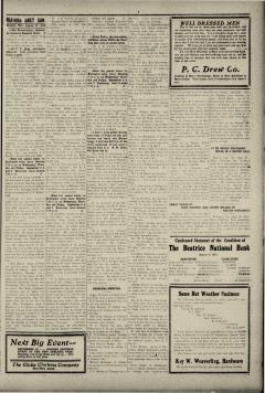 Beatrice Daily Sun, August 31, 1913, Page 5