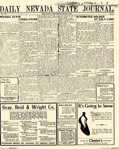 Daily Nevada State Journal, February 03, 1903, Page 1