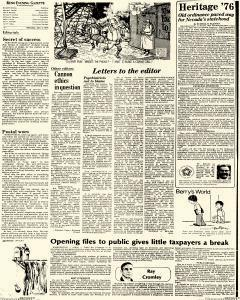 Nevada Evening Gazette, January 05, 1976, Page 19
