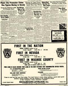 Nevada State Journal, August 21, 1954, Page 3