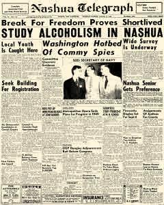 Nashua Telegraph, August 05, 1948, Page 1