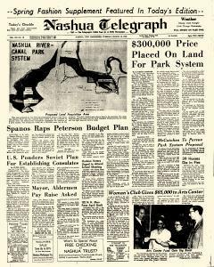 Nashua Telegraph, March 18, 1969, Page 1