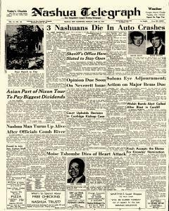 Nashua Telegraph, June 30, 1969, Page 1