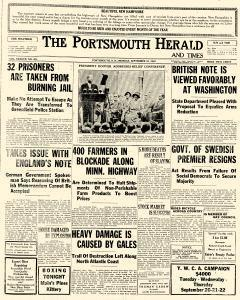 Portsmouth Herald, September 19, 1932, Page 1