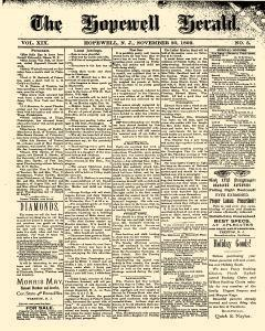 Hopewell Herald, November 30, 1892, Page 1