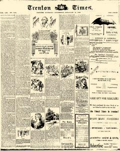 Trenton Times, February 22, 1890, Page 1