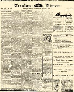 Trenton Times, March 07, 1890, Page 1
