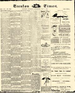 Trenton Times, May 01, 1890, Page 1