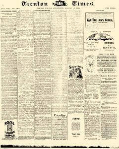 Trenton Times, August 15, 1890, Page 3