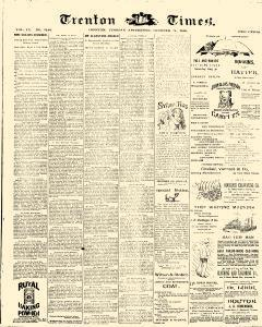 Trenton Times, October 21, 1890, Page 1