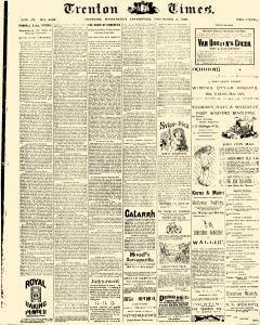 Trenton Times newspaper archives