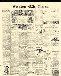 Trenton Times, December 23, 1890, Page 1