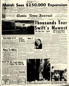 Clovis News Journal, May 26, 1963, Page 1