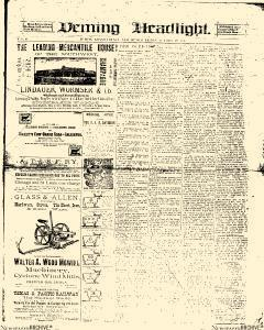 Deming Headlight, October 19, 1888, Page 5
