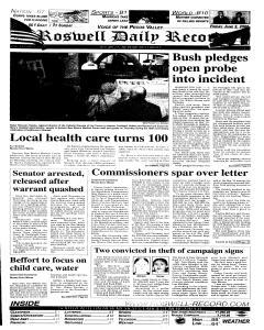 Roswell Daily Record, June 02, 2006, Page 1