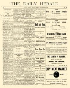 Daily Herald, September 04, 1888, Page 1