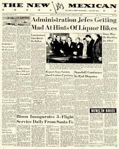 Santa Fe Daily New Mexican, March 15, 1963, Page 1