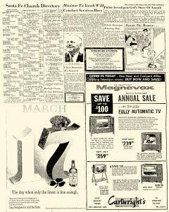 Santa Fe Daily New Mexican, March 15, 1963, Page 5