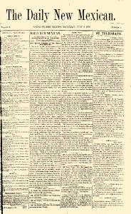 Santa Fe New Mexican, July 09, 1870, Page 1
